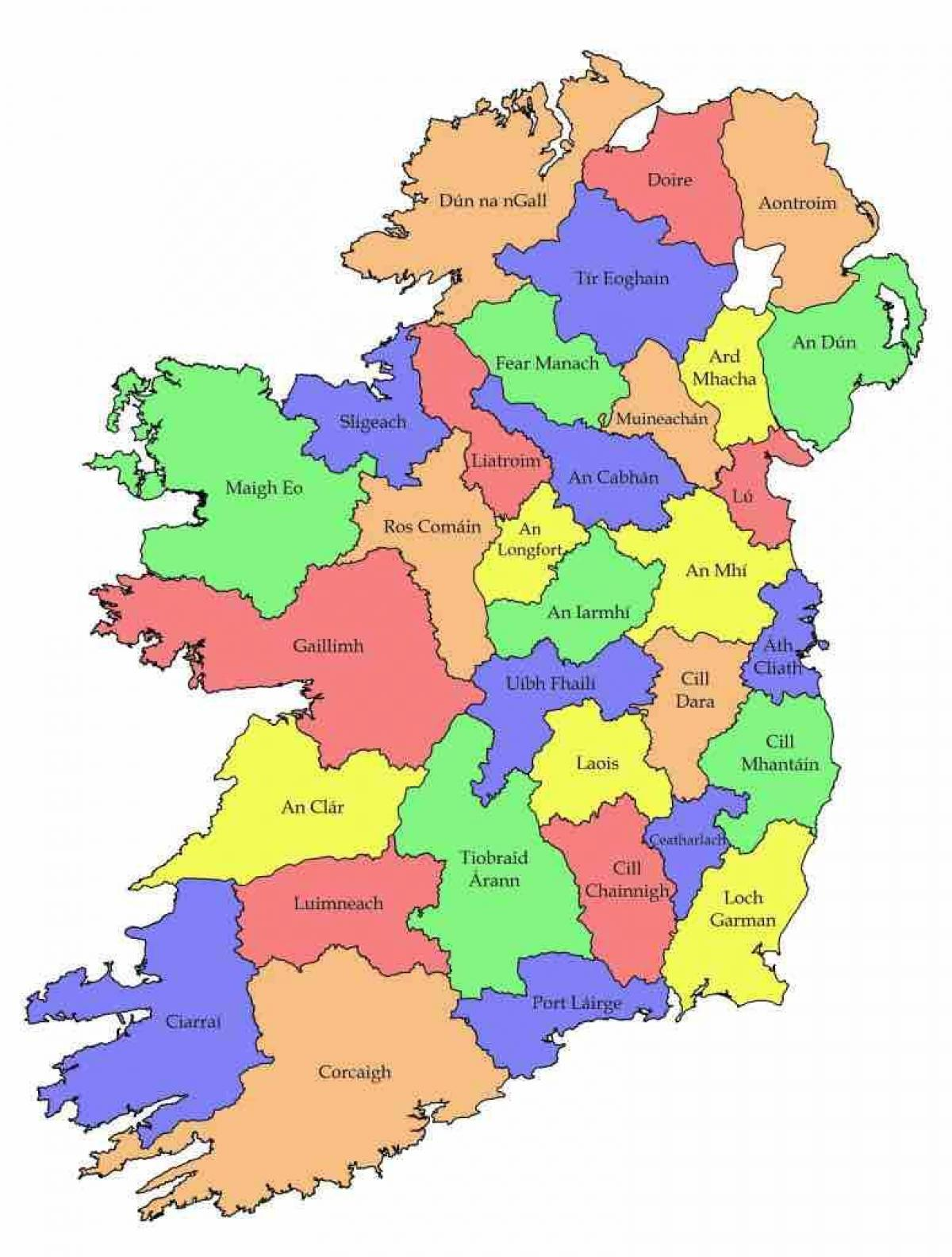 Map Of Ireland Jpg.Labelled Map Of Ireland Map Of Ireland With County Names Northern