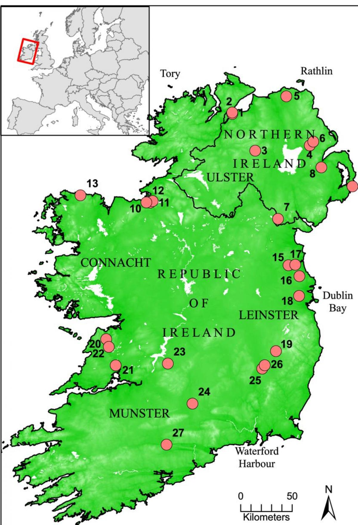 Map Of Rivers In Northern Ireland.Rivers Of Ireland Map Map Of Ireland Showing Rivers